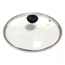 Крышка стеклянная d-28 см