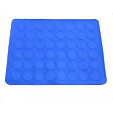 Силиконовый коврик с бордюрными кругами (Для выпечки Макаронс)