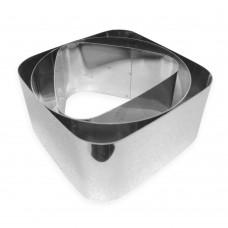 Набір металевих Асорті форм для салатів, вирубки / дор. / 3 шт.