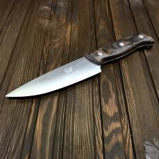 """Ніж кухонний """"Cleaver"""" / дерев'яна ручка / 24 см"""