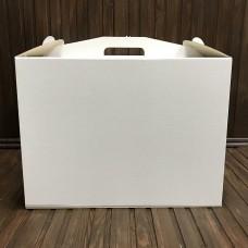 Коробка для торта / 400х400х300 / гофра / без вікна