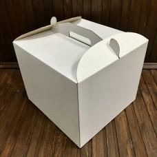 Коробка для торта / 300х300х250 / гофра / без вікна