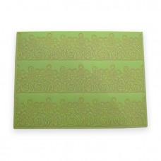 Кружевной силиконовый коврик CT009