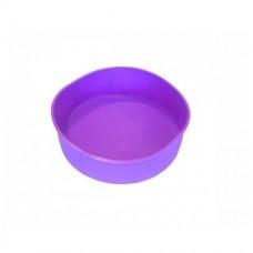 Большая силиконовая форма круглая (вафельный тонкий торт) d-20 см