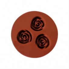 """Молд силіконові """"Троянди"""" / мал. / 3 шт."""