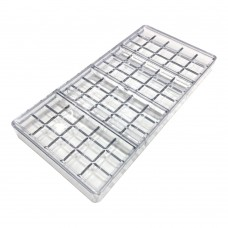 Поликарбонатная форма Плитки (15 х 4 шт на планшете)