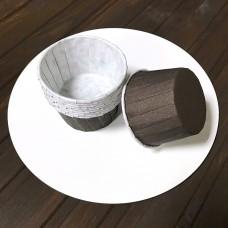 Форма для кекса бумажная с усилинными бортами