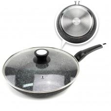 Сковорода гранитная A-Plus 1481, d-24 см