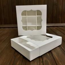 Коробка для пряника с окошкшом (120х120х30)