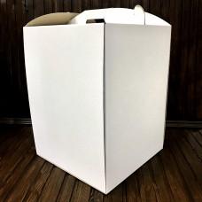 Коробка для торта / 300х300х400 / гофра / без вікна