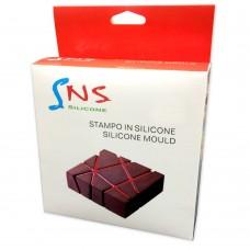 """Евродесерты Силиконовая форма """"Chocolate Block\Шоколадний блок"""""""