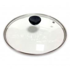 Крышка стеклянная d-24 см