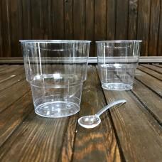 Стопка (стакан) без ножки 200 гр (25 шт.)
