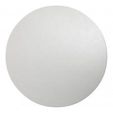 Подложка ДВП 4 мм d-28 см (Круглая, Белая)