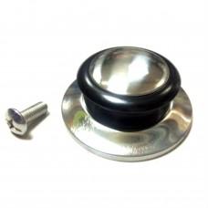 Ручка для кришки RK0425 / метал, ебоніт