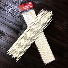 Шпажки бамбукові / d-4 мм / 35 см / 50 шт