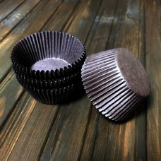Форма паперова для кексу 7а / коричнева / d-5 см / h-3 см / 100 шт.