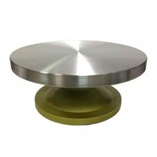 Підставка для роботи із тортом / металева / крутиться / d-30 см