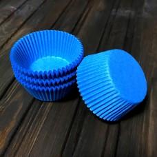 Форма паперова для кексу 7а / блакитна / d-5 см / h-3 см / 100 шт.