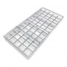 Форма полікарбонатна Плитки / планшет / 4 х 15 шт.