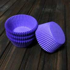 Форма паперова для кексу 7а / фіолетова / d-5 см / h-3 см / 100 шт.