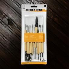 Набір інструментів для різблення Art Tools / 11 шт.