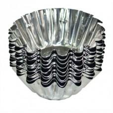 Форми металеві для випікання кексів / вел. / 10 шт.