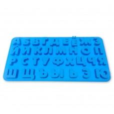 """Форма силіконова """"Алфавіт"""" / планшет / 33 шт."""